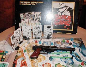 Les jeux de société vintage : rôle, stratégie, plateaux... Supergang2